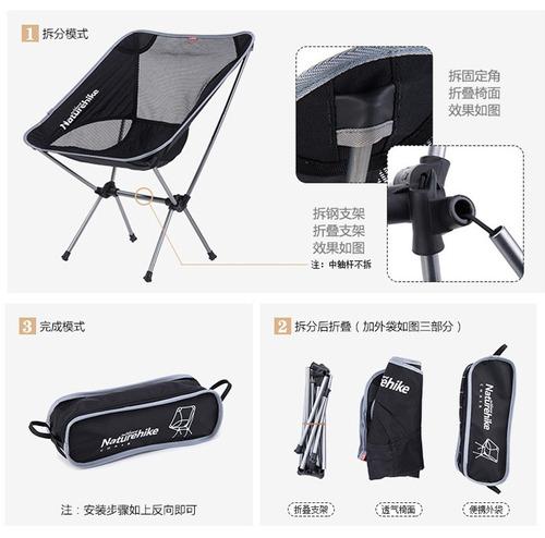 plegable camping silla