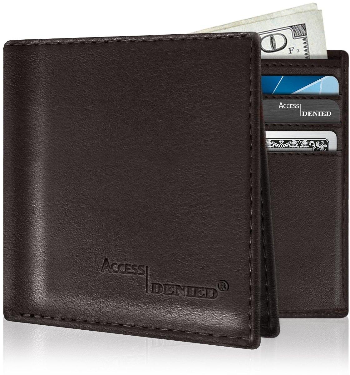 d64c8c34a plegable de cuero billeteras para hombres - rfid bloqueo de. Cargando zoom.
