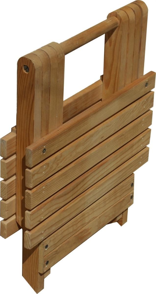 Como hacer un banco de madera banco escalera de madera de - Bancos de jardin de madera ...