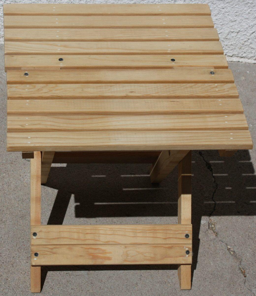 Banco de jard n mueble plegable madera jardin interiores for Banco madera jardin carrefour