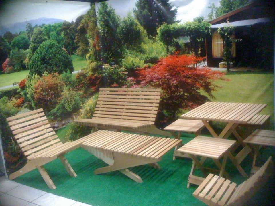 plegable madera jardin mesa jardn mueble
