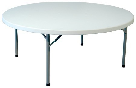 Mesas sillas plegable plastico fiesta alquiler 1 239 - Mesa de resina plegable ...