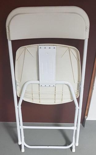 plegable plástico silla