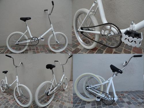 plegable rodado bici