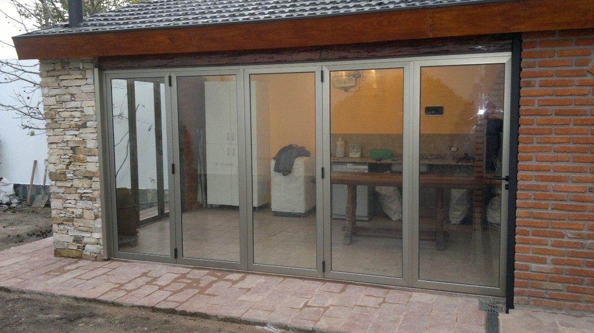puertas plegadizas de aluminio en mercado libre