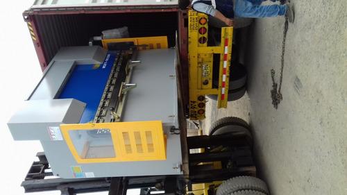 plegadoras y guillotinas hidraulicas nuevas lima peru