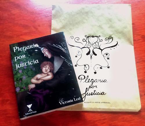 plegaria por justicia - novela ilustrada - victoria leal