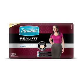 Plenitud Mujer Ropa Interior Real Fit P/m X 20