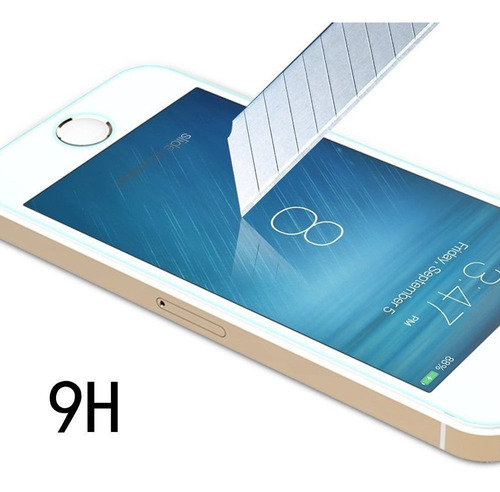 pleson iphone se protector de pantalla 2-pack iphone se temp