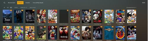 plex tv animes