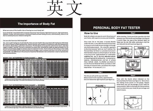 plicometro analiza mide grasa corporal manual