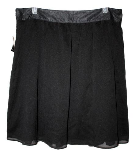 plisada bolsas falda corta