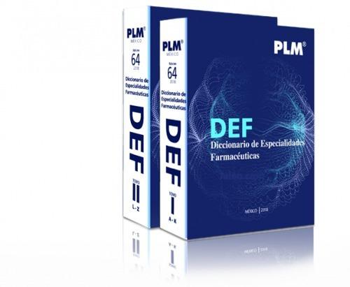 plm 2018 diccionario de especialidades farmacéuticas def