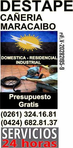 plomeria destape maracaibo sin romper evaluo gratis