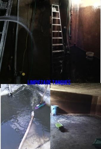 plomeria en general limpieza de tanques y reparaciones