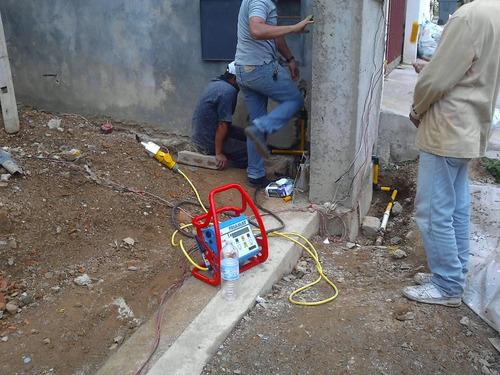 plomería gas directo electrofusion