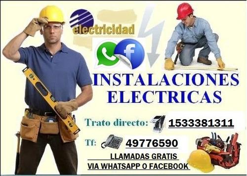 plomero, gasista, electricista, reparaciones en caba y gba