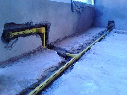 plomero gasista. instalaciones sanitarias