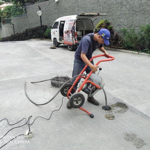 plomeros plomeria caracas servicios destapado 0412-324.8113