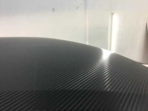 ploteo  grafica vehicular  negro mate  oracal  carbono