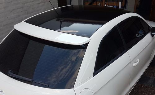 ploteo techo/ capot domicilio mate simil vidrio carbono