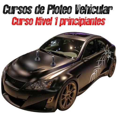 ploteo vehicular cursos aprende a plotear motos autos wiper