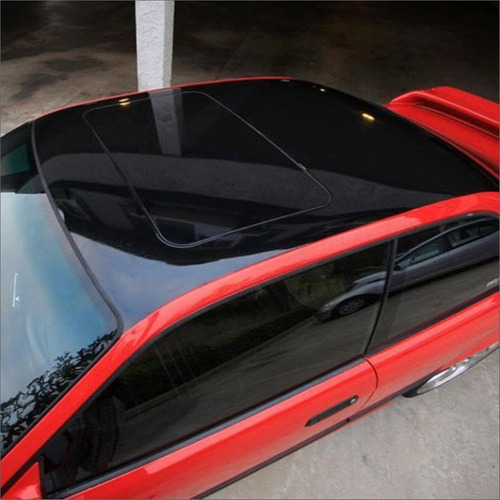 ploteo vehicular vinilo simil vidrio techo oracal alemán 2m