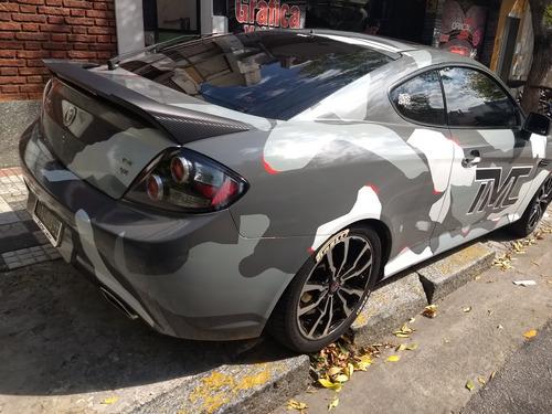 ploteo vehicular wrap techo carbono parantes pcgrafica