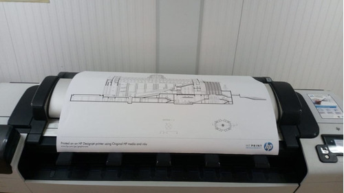 ploter hp designjet t520 a0 sistema continuo