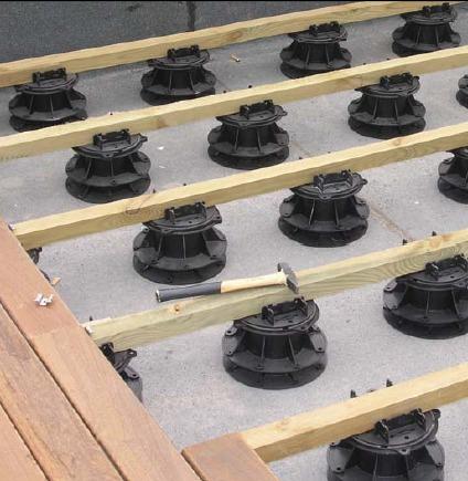 Plots Soportes Regulables Nivelación Decks De 5 A 35cm