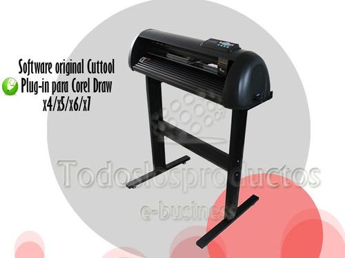 plotter de corte con base 61cm corte automatico sotf corelx7