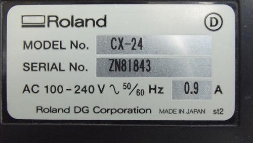 plotter de corte marca roland camm 1 cx-24