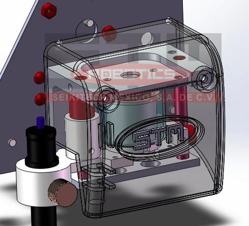 plotter de corte stm robotics corte contorno garantía 5 años