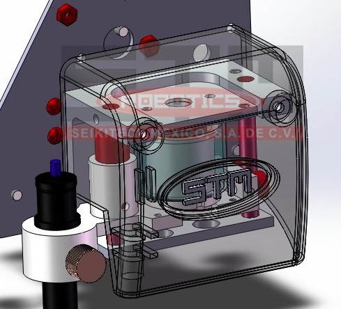 plotter de corte stm robotics corte contorno garantía 6 años