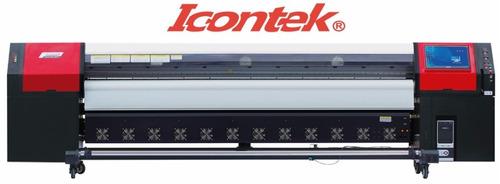 plotter de impresion digital icontek de gran formato iva inc
