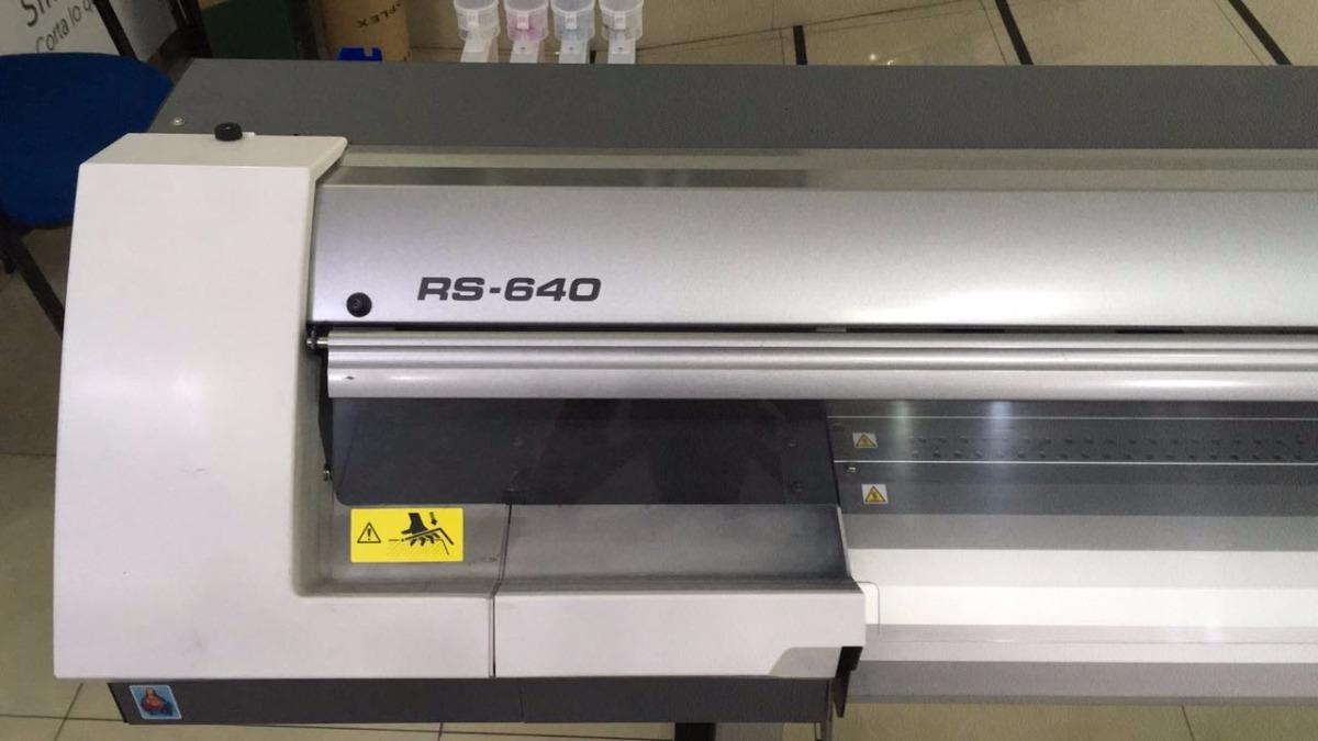 Plotter De Impresión Roland Rs640 Reacondicionada A Nuevo - $ 572 000,00