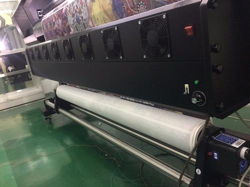 plotter de sublimación calidad alta 2 cabezales epson 1.80 m