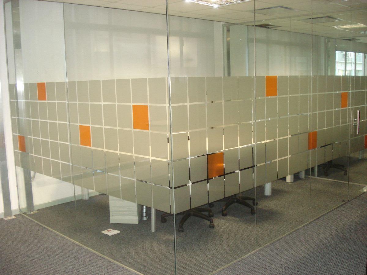 Plotter esmerilado oficinas gigantografias vinilo corte for Vinilos para oficinas