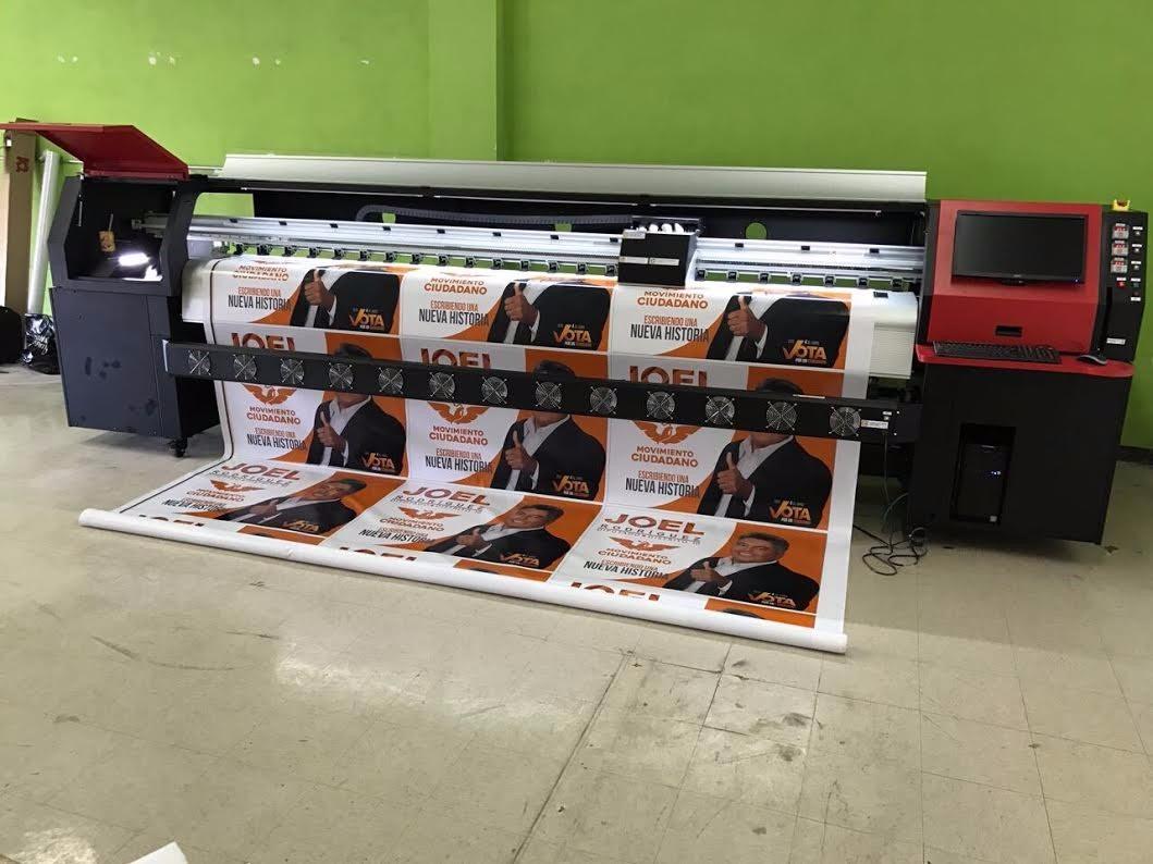 Plotter Gran Formato Ideal Campañas95m2/hr.seiko510/35pl ...
