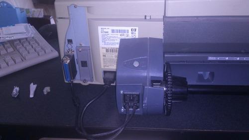 plotter hp designjet 110nr   (para partes)