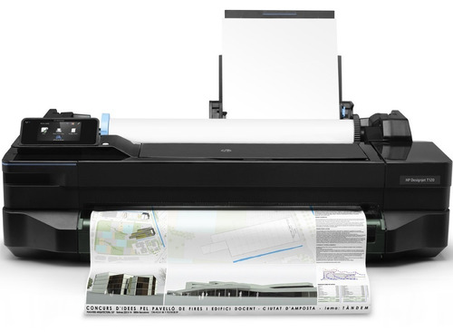 plotter hp designjet serie t120 24´´ full formato - wi-fi