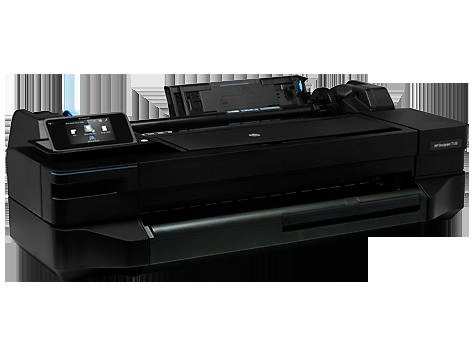 plotter hp designjet t120 24' wifi portarrollos rollo pc mac