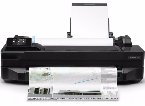 plotter hp designjet t120 impresion gran formato usb wifi 24