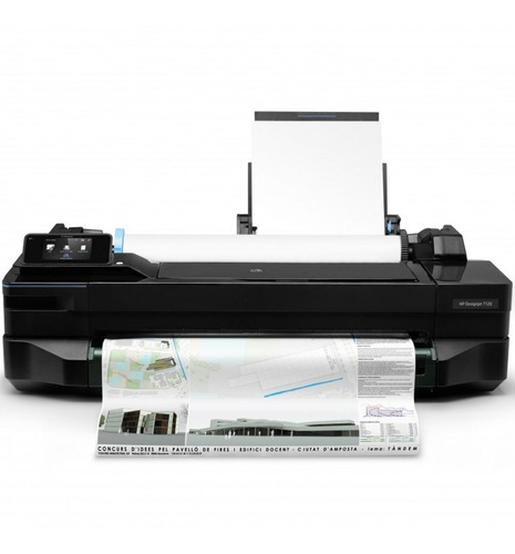 plotter hp t120 designjet eprinter 24 pulgadas color cq891c