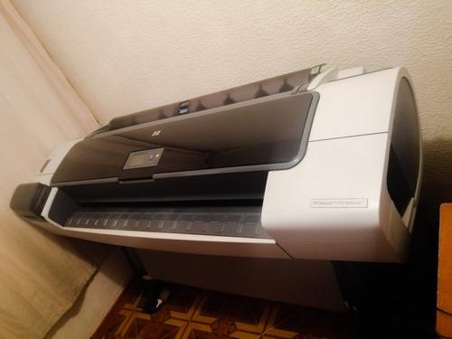 plotter hp t1200. con sistema de tintas continuas
