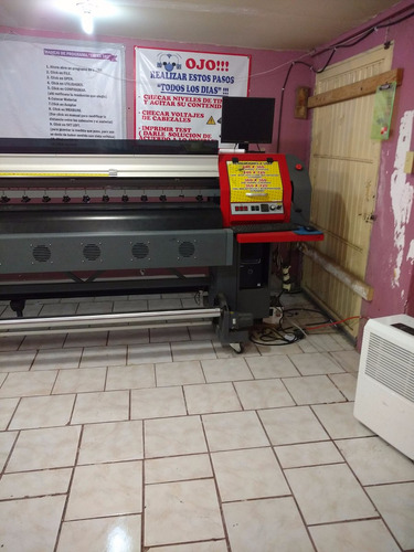 plotter impresion wit color ultra 2000 4 cabezales 3.20 mts