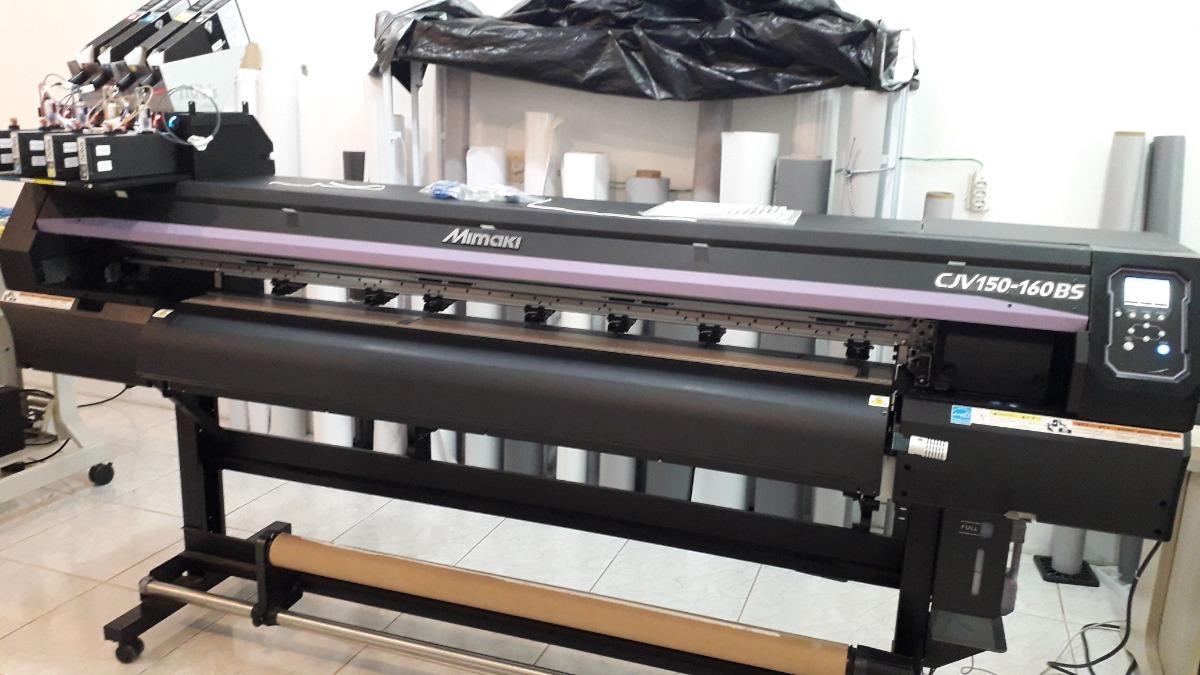 3148b2185e250 Plotter Mimaki Cjv150-160 Eco Solvente - R  52.900,00 em Mercado Livre