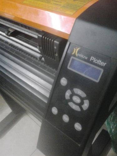 plotter moritzu uc-700e c/accesorios y vinilos textiles