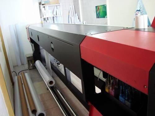 plotter solvente icontek m3 gran formato y alta resolución