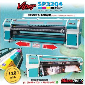 09d3051df15a8 Plotter Impressão 320 Cm Novíssima 4 Cabeças no Mercado Livre Brasil